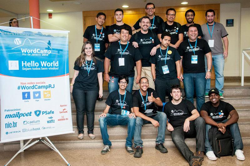 Equipe de gandulas WordCampRJ 2014