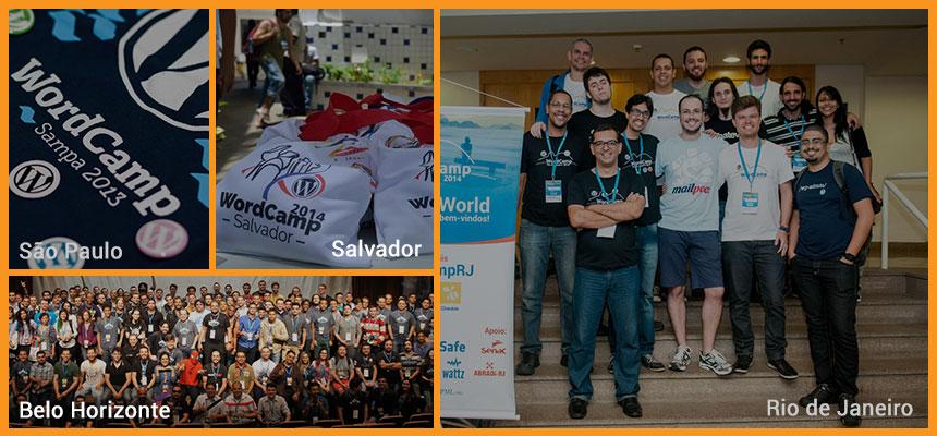 WordCamps pelo mundo